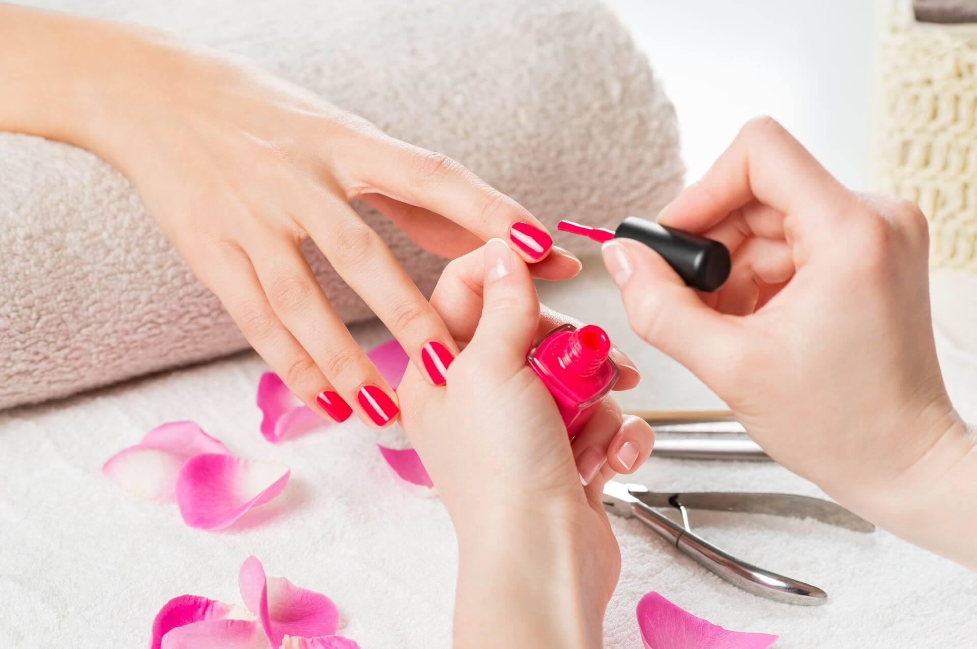 manicure beauty salon Ljubljana